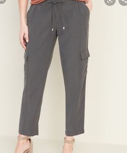 Mid-Rise Soft Pull-On Cargo Pant